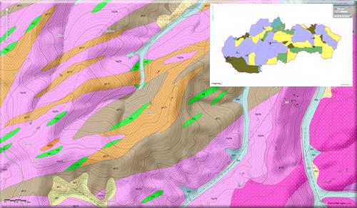 a172d36420a Geologická mapa Slovenska M 1 50 000